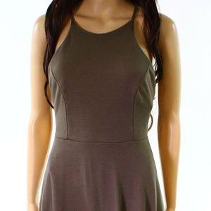 Soprano Solid Seamed A-Line Dress Sz M  NWT!!